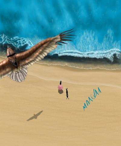 Sea   maleval_sam   Digital Drawing   PENUP