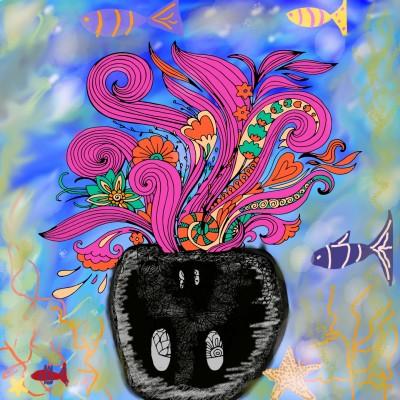 Coloring Digital Drawing | fmjuju | PENUP