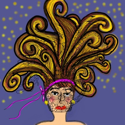 crazy hair day | missT | Digital Drawing | PENUP
