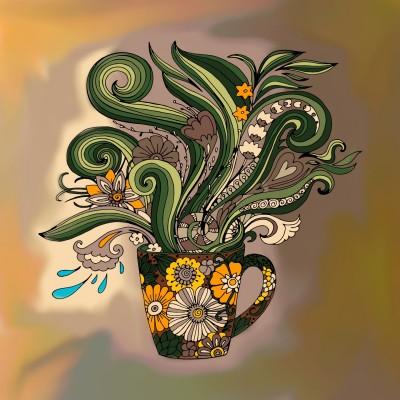 WILD FLOWERS   elaine   Digital Drawing   PENUP