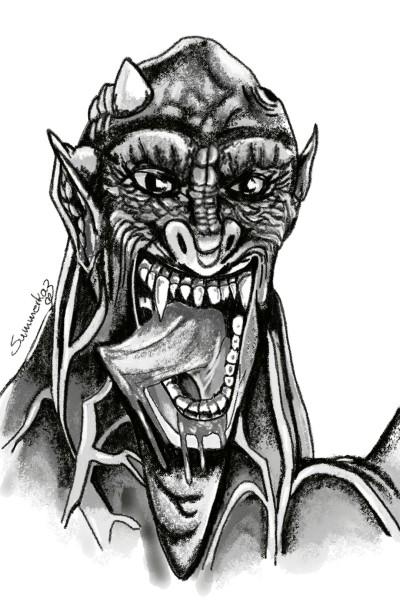 Waging Demon Tongues   SummerKaz   Digital Drawing   PENUP