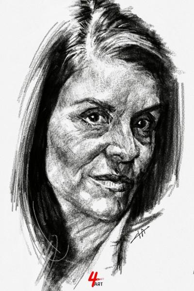 ☆YouTube [Daily Drawing] portrait 02 | 4ocketart | Digital Drawing | PENUP