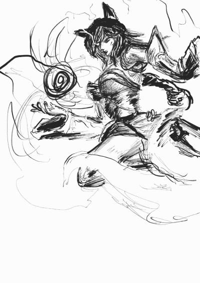 15 min ahri   drawing_noob   Digital Drawing   PENUP