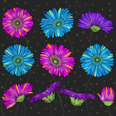 bunte Blumen  | Klimtin | Digital Drawing | PENUP