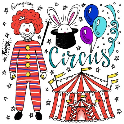 LETS GO TO THE CIRCUS | ashlynnthompson | Digital Drawing | PENUP