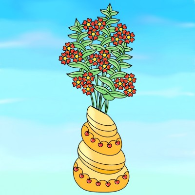 flowers | marpong | Digital Drawing | PENUP