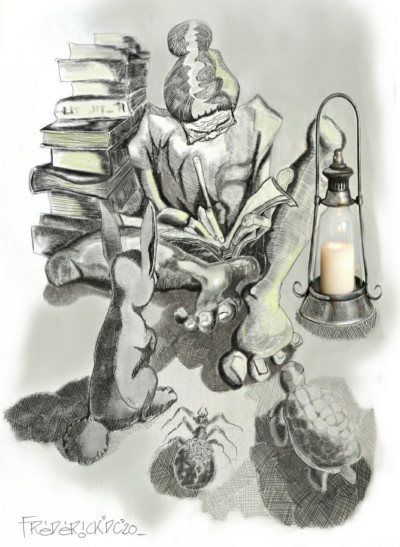 The Story Teller  | FREDERICKDC | Digital Drawing | PENUP