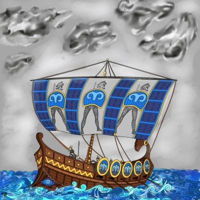 Ship | Jules | Digital Drawing | PENUP