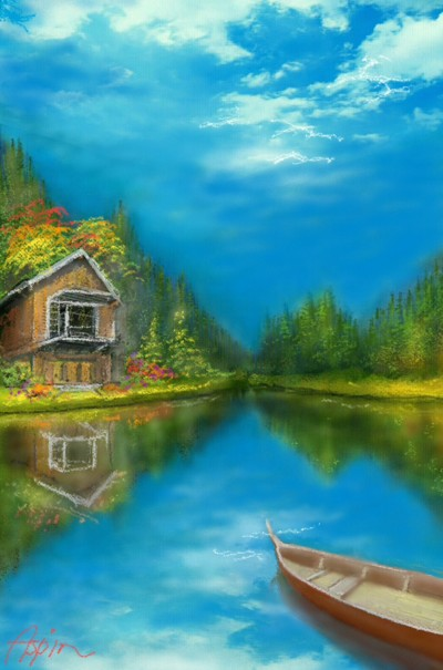 Dream House | Aspin | Digital Drawing | PENUP