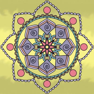 Coloring Digital Drawing | Mia | PENUP