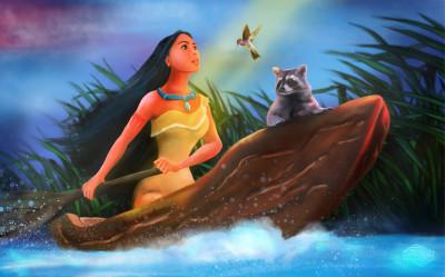 Pocahontas: Just around the riverbend | Hypnorino | Digital Drawing | PENUP