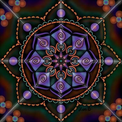 Tricolor Spirograph  | LisaBme | Digital Drawing | PENUP