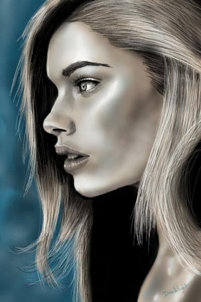 Portrait journal  | Doodilight | Digital Drawing | PENUP