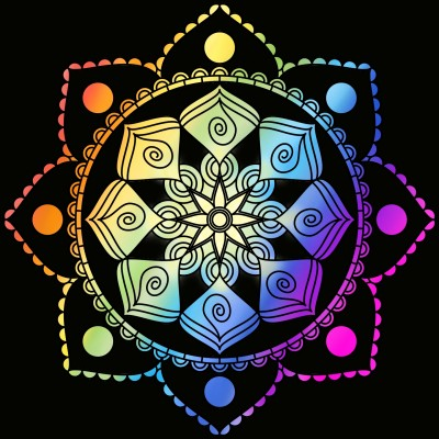 rainbow flower!!!! :) | Art4Life | Digital Drawing | PENUP