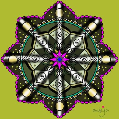 The fragrance of mandala♡ | ockja | Digital Drawing | PENUP