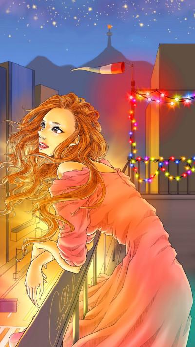 Night view | Gavriel | Digital Drawing | PENUP