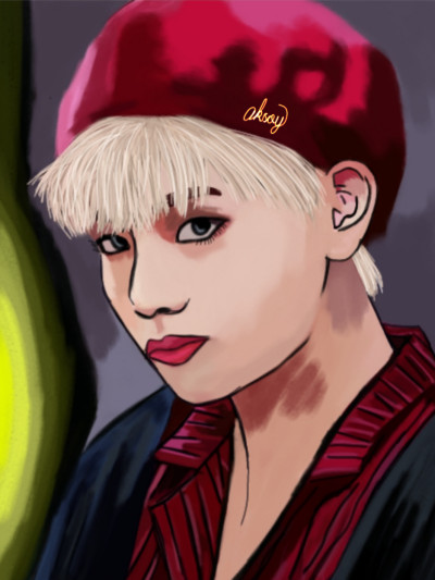 BTS 《tae) | aksoy | Digital Drawing | PENUP