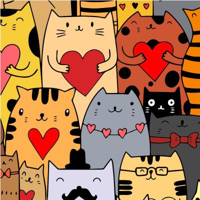 cats  | Zenovia | Digital Drawing | PENUP