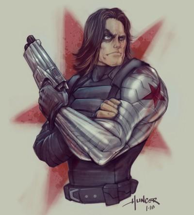 Winter Soldier | Hunger_art | Digital Drawing | PENUP