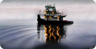 ocean tug | Lor-Van | Digital Drawing | PENUP