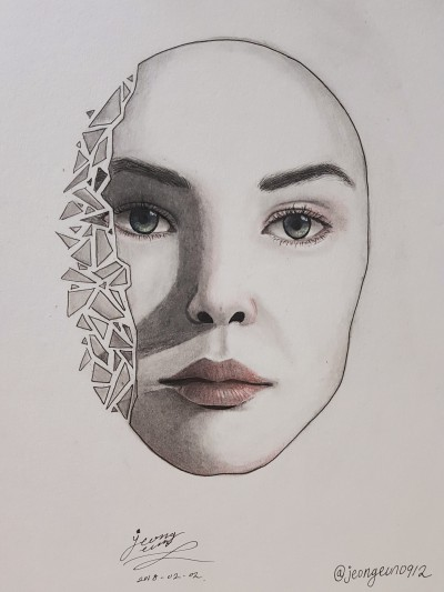 mask   jeongeun0912   Digital Drawing   PENUP