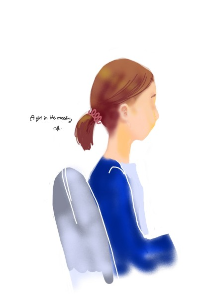 a girl in the meeting | Chuna | Digital Drawing | PENUP