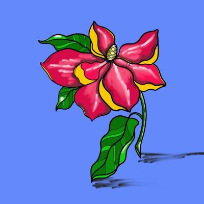 flower | AZR | Digital Drawing | PENUP