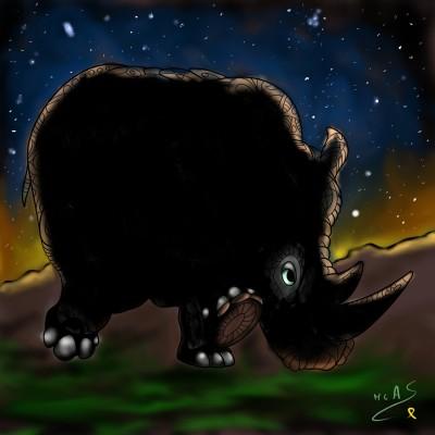 Rinoceront  | Carme | Digital Drawing | PENUP