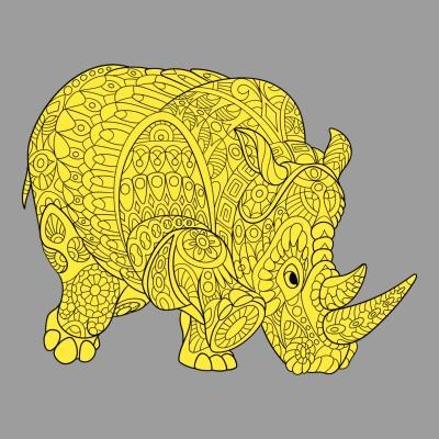 rinoceronte  d'oro  | andrea | Digital Drawing | PENUP