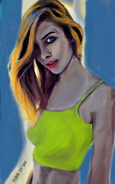 BY THE WINDOW  | Tobie.ISR | Digital Drawing | PENUP