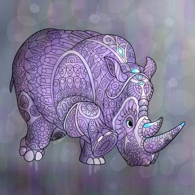 하마.. hippo.. | mjyoo | Digital Drawing | PENUP