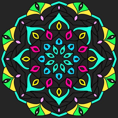 Mandala | Chris | Digital Drawing | PENUP