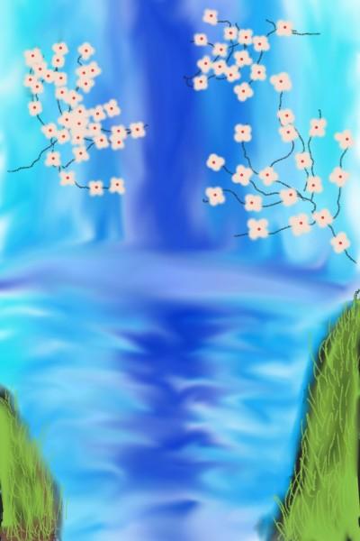 waterfall/river | Kayden | Digital Drawing | PENUP
