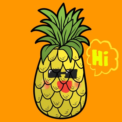 pineapple | parkjiyoung | Digital Drawing | PENUP
