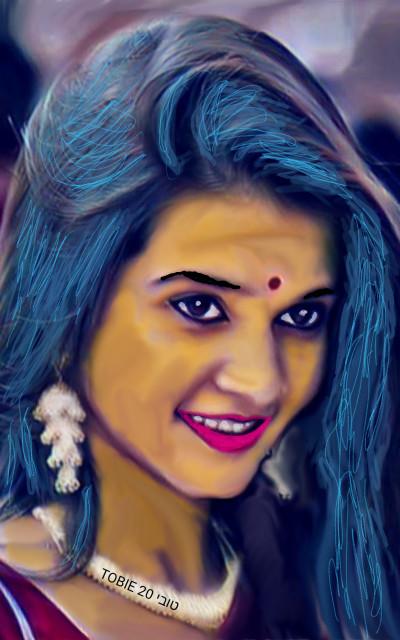 INDIAN BEAUTY  | Tobie.ISR | Digital Drawing | PENUP