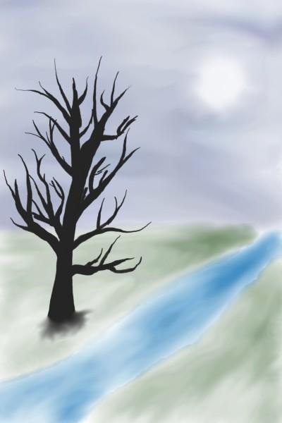 Landscape Digital Drawing | Maiba | PENUP