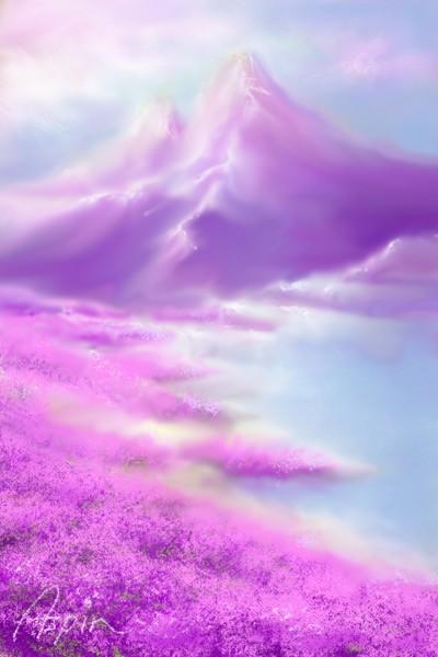 Purple | Aspin | Digital Drawing | PENUP