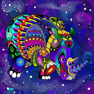 SpaceRhino | ridesrhinos | Digital Drawing | PENUP