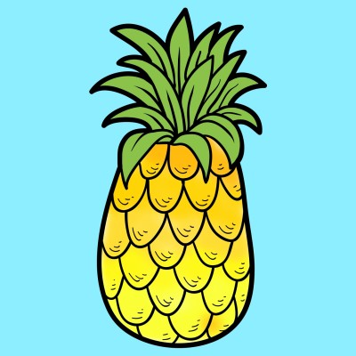 pineapple | Manuelasunia | Digital Drawing | PENUP