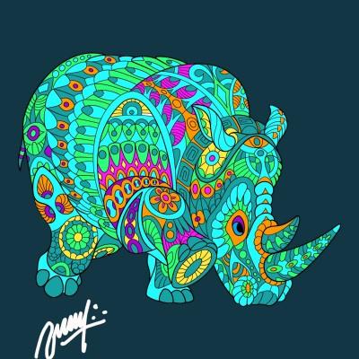 Coloring Digital Drawing | MKM-olllllo | PENUP