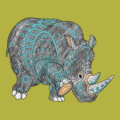 rhino | dena | Digital Drawing | PENUP