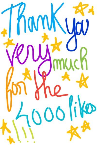 4000 LIKES !!!! (≧▽≦) | _Emi_ | Digital Drawing | PENUP