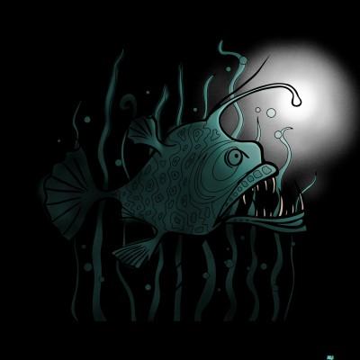 Anglerfish  | G-Ranny2 | Digital Drawing | PENUP