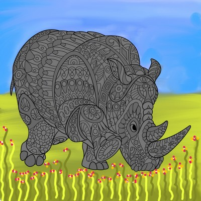 Coloring Digital Drawing | Artprincess | PENUP