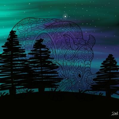 Coloring Digital Drawing | Art4Life | PENUP