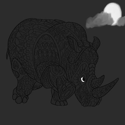 Midnight | CN10195 | Digital Drawing | PENUP