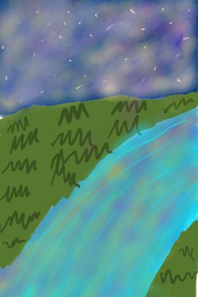 Landscape Digital Drawing | lalalatutu | PENUP