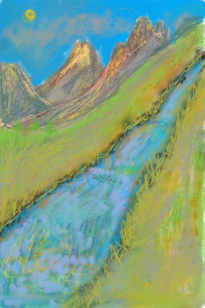 River | helgi | Digital Drawing | PENUP