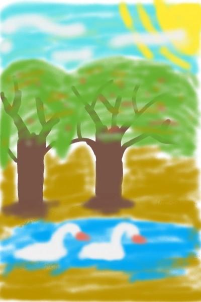 Landscape Digital Drawing | AngelArt | PENUP