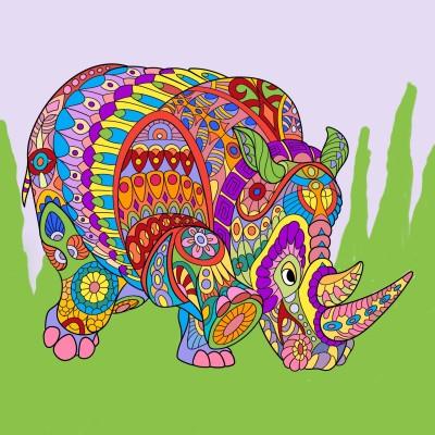 Coloring Digital Drawing | Janzen | PENUP